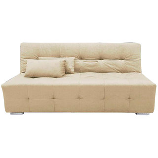Krystal Sofa Cum Bed ( Cream)