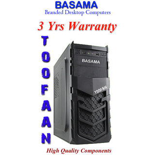 Core I3 530 / 4Gb / 1 Tb Basama Toofan Branded Desktop Computers With 3 Years Warranty