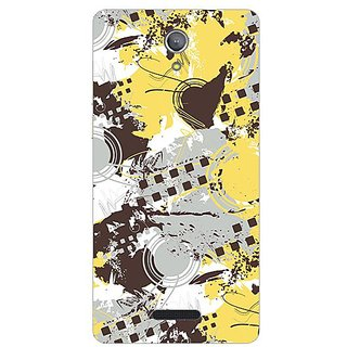 Garmor Designer Plastic Back Cover For Gionee Marathon M4