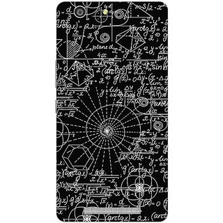 Garmor Designer Plastic Back Cover For Gionee Marathon M5