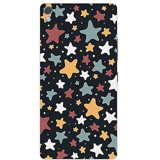 Garmor Designer Plastic Back Cover For Gionee Elife S7