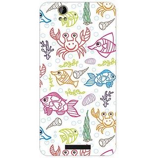 Garmor Designer Plastic Back Cover For Lava Iris X1