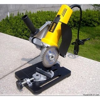 Angle Grinder Support (Casting Base) Stand Table Bench Vise Clamp for100/115/125