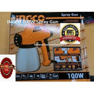 Electric Paint Spray Gun 100W MOTOR INGCO Brand