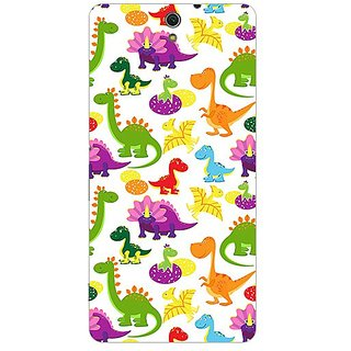 Garmor Designer Plastic Back Cover For Sony Xperia C5