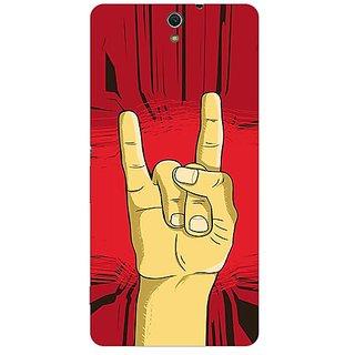 Garmor Designer Plastic Back Cover For Sony Xperia C5