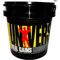 UNIVERSAL NUTRITION REAL GAINS 6.5LBS WEIGHT MASS GAINER CHOCOLATE PROTEIN