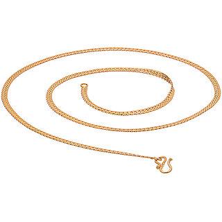 Stylish gold toned long chain