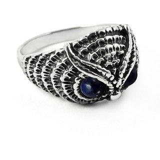 Miska Silver Owl Design 925 Sterling Silver  Ring RNCB16-1162-23