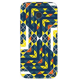 Garmordesigner Plastic Back Cover For Htc One (M8)