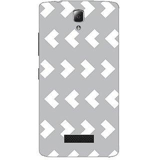 Garmordesigner Plastic Back Cover For Lenovo A2010