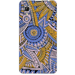 Garmordesigner Plastic Back Cover For Lenovo P780