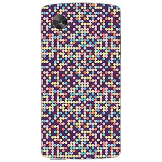 Garmordesigner Plastic Back Cover For Lg Nexus 5