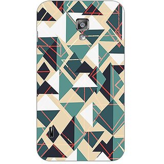 Garmordesigner Plastic Back Cover For Lg Optimus L7 Ii Dual P715