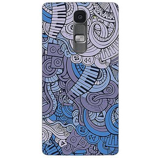 Garmordesigner Plastic Back Cover For Lg Spirit