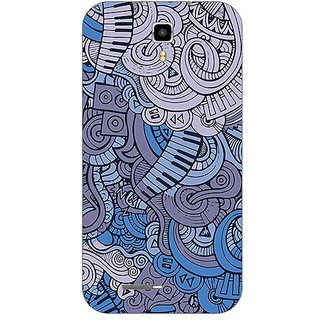 Garmordesigner Plastic Back Cover For Micromax A77 Canvas Juice