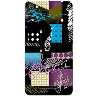 Garmordesigner Plastic Back Cover For Micromax Canvas Hue A316