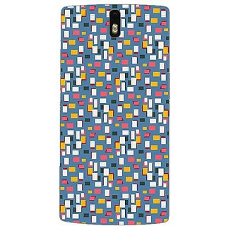 Garmor Designer Plastic Back Cover For Oneplus One