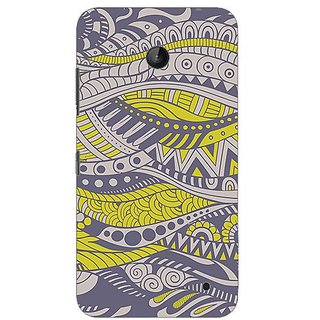 Garmor Designer Plastic Back Cover For Nokia Lumia 635