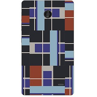 Garmor Designer Plastic Back Cover For Nokia X