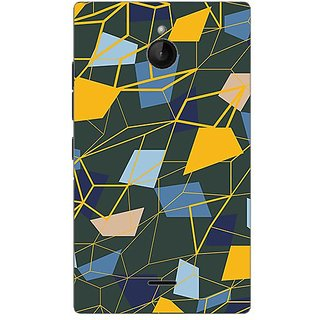 Garmor Designer Plastic Back Cover For Nokia X2