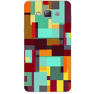 Garmor Designer Plastic Back Cover For Samsung Galaxy A7 Sm-A700