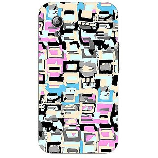 Garmor Designer Plastic Back Cover For Samsung Galaxy Ace S5830