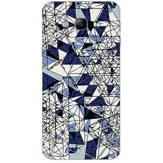 Garmor Designer Plastic Back Cover For Samsung Galaxy A8