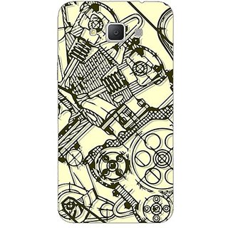Garmor Designer Plastic Back Cover For Samsung Galaxy Grand Max Sm-G7200