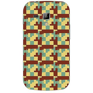 Garmor Designer Plastic Back Cover For Samsung Galaxy S Duos 7562