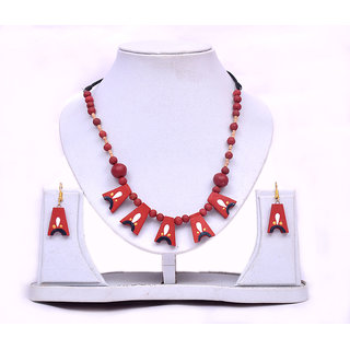 Teracota fashion Jewellery / Necklace