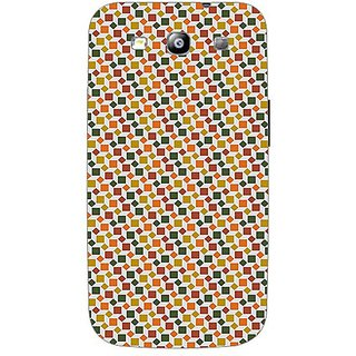 Garmor Designer Plastic Back Cover For Samsung I9300 Galaxy S Iii