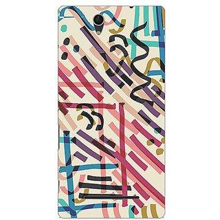 Garmor Designer Plastic Back Cover For Sony Xperia C3