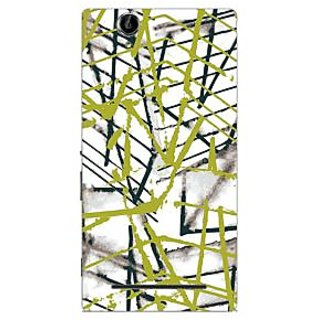 Garmor Designer Plastic Back Cover For Sony Xperia T2