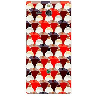 Garmor Designer Plastic Back Cover For Sony Xperia U