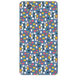 Garmor Designer Plastic Back Cover For Sony Xperia Z1 Compact