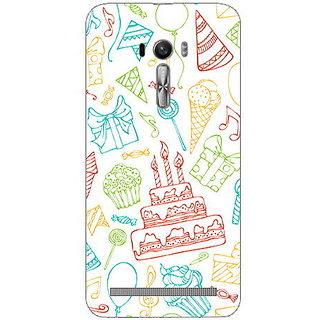 Garmor Designer Plastic Back Cover For Asus Zenfone Selfie Zd551Kl