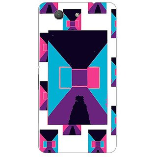 Garmor Designer Plastic Back Cover For Sony Xperia Z3 Compact