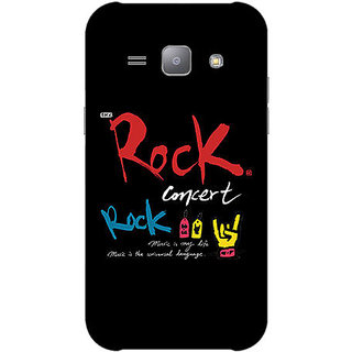 Garmor Designer Plastic Back Cover For Samsung Galaxy J1 Sm-J100Fn