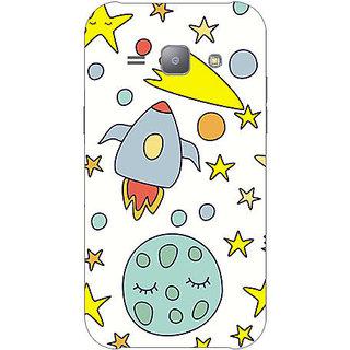 Garmor Designer Plastic Back Cover For Samsung Galaxy J1 Sm-J100Fn
