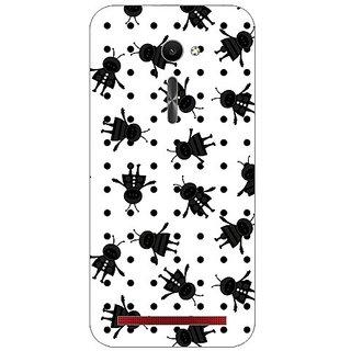 Garmor Designer Plastic Back Cover For Asus Zenfone 2 Ze500Cl