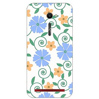 Garmor Designer Plastic Back Cover For Asus Zenfone 2 Ze500Cl