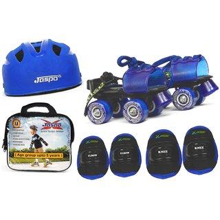Jaspo Kids Delite Intact junior Skates Combo (skates+helmet+knee+elbow+bag)