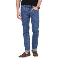 Super-X Blue Slim Fit Jeans For Men-abc81c