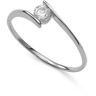 Taraash CZ Sterling Silver Finger Ring