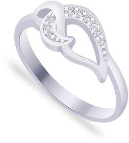 Taraash 925 Silver Round - Cut CZ Beautiful Promise Ring FR1473R6