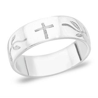 Taraash Engraved 925 Sterling Silver Finger Ring FR1215A9