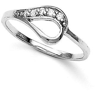 Taraash .925 Sterling Silver CZ Promise Ring For Womens FR1262R6
