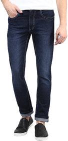 Super-X Blue Slim Fit Jeans For Men-abc128c