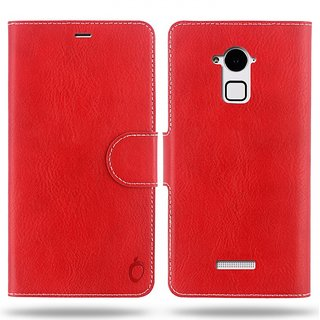 Cool Mango Compact Premium Faux Leather Flip Cover for CoolPad Note 3